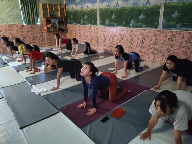 Phòng tập yoga tphcm